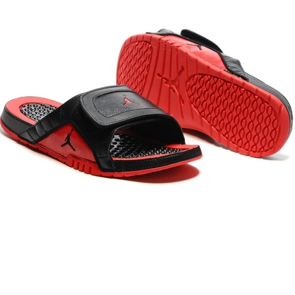 7faf75d27fbf Jordan Other - Air Jordan Hydro Slide Sandals Black Red